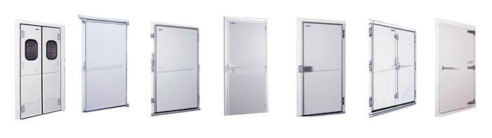 tipos de puertas para camaras frigorificas